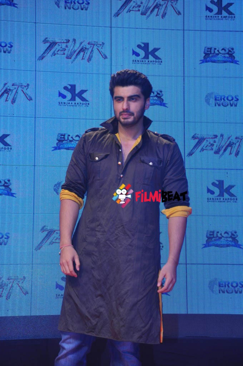 Arjun And Sonakshi Launch The Trailer Of Tevar Photos