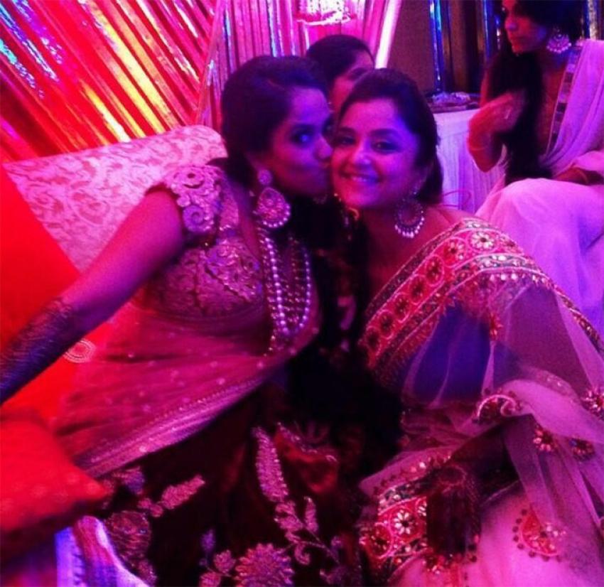 Arpita Khan Wedding Sangeet Ceremony Photos