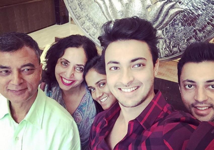 Salman Khan's future brother-in-law Aayush Sharma Photos