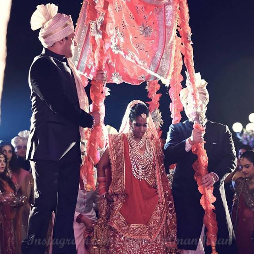 Salman Khan Sister Arpita Khan Wedding Photos