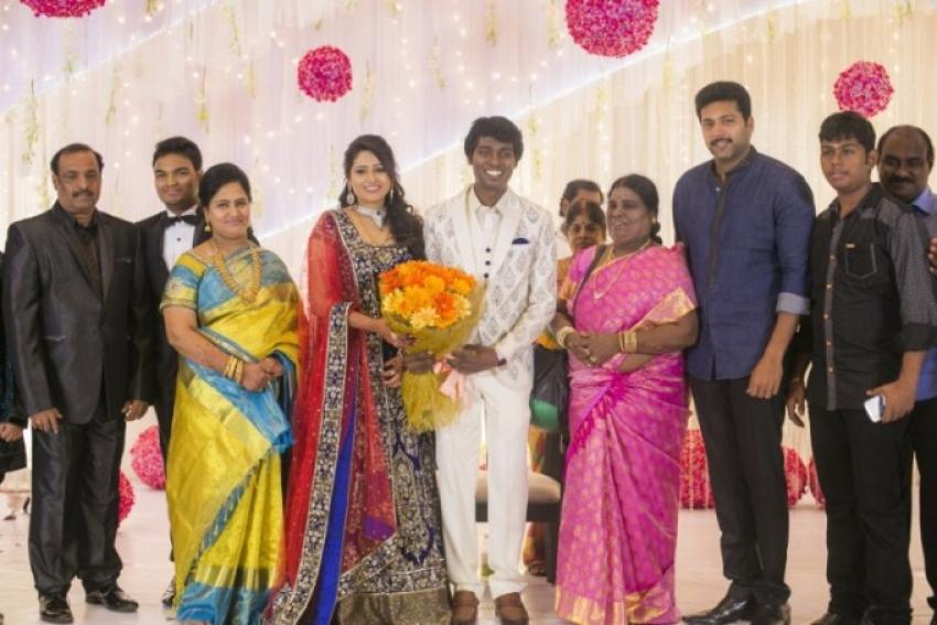 Atlee And Krishna Priya Marriage Reception Photos
