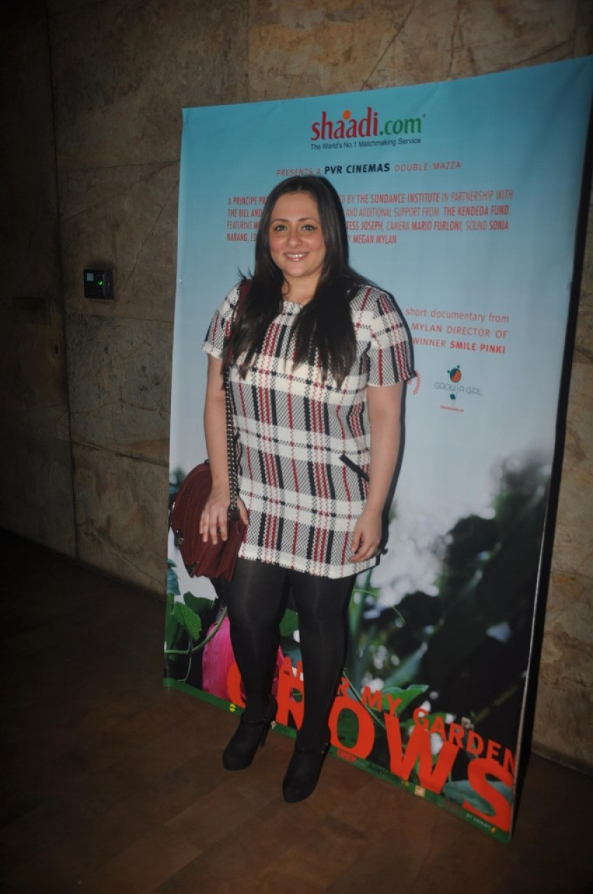 Special Screening Of 'After My Garden Grows' Photos