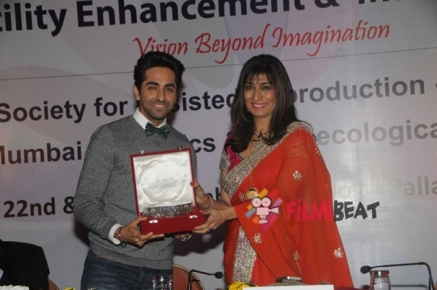 Ayushmann Khurrana At FEM-Vision Beyond Imagination Photos