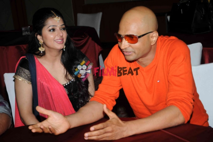 Love U Aliya Film Press Meet Photos