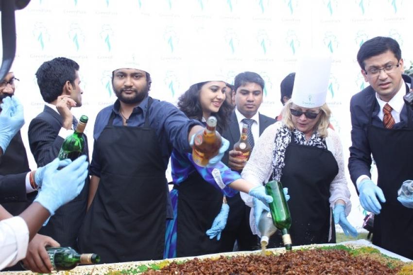 Cake Mixing Ceremony Photos