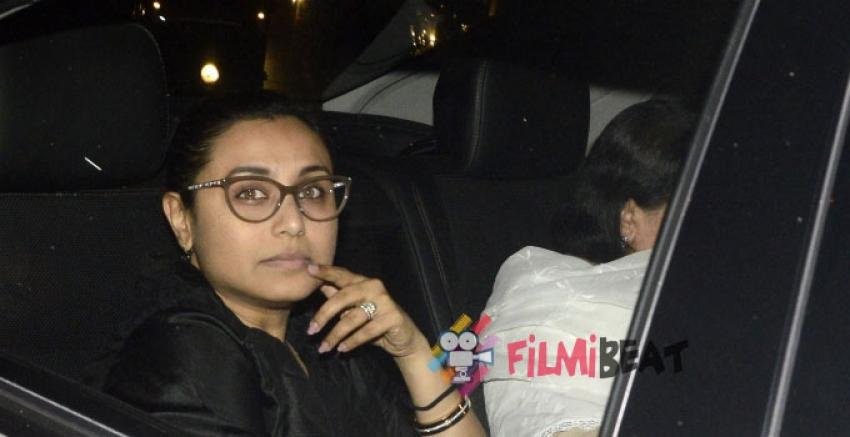 Bollywood Celebs At Ravi Chopra Funeral Photos