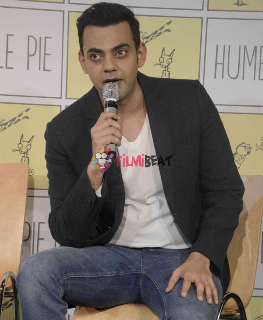 Launch Of Celebrity Chat Show On The Bench Photos