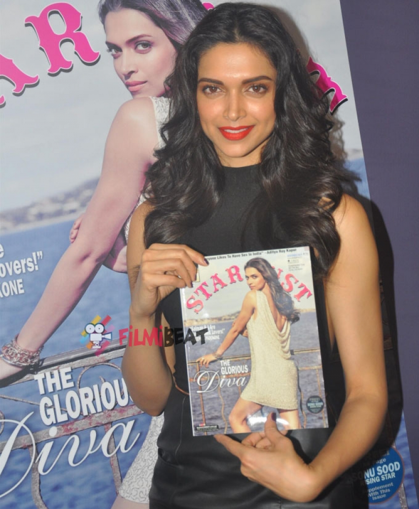 Deepika Padukone Launches Latest Issue Of Stardust Photos