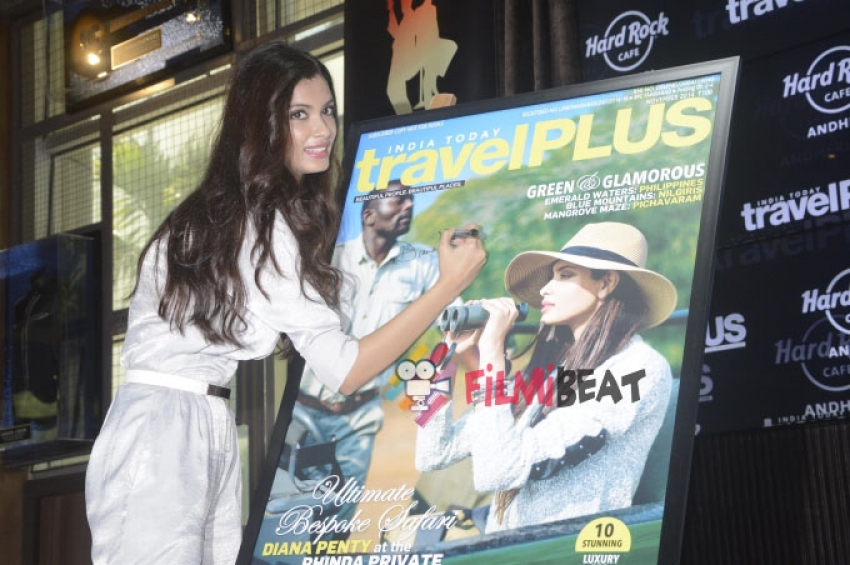 Diana Penty Unveils Latest Issue Of Travel Plus Photos