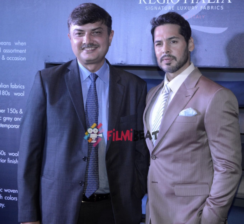 Dino Morea Launches Raymond's Regio Italia Photos