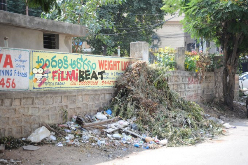 Hero Ram Swachh Bharat Event At Srinagar Colony Photos