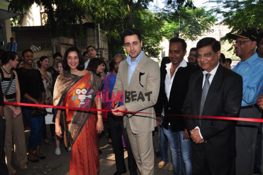 Imran Khan Inaugurates Indian Merchants Chamber Exhibition Photos