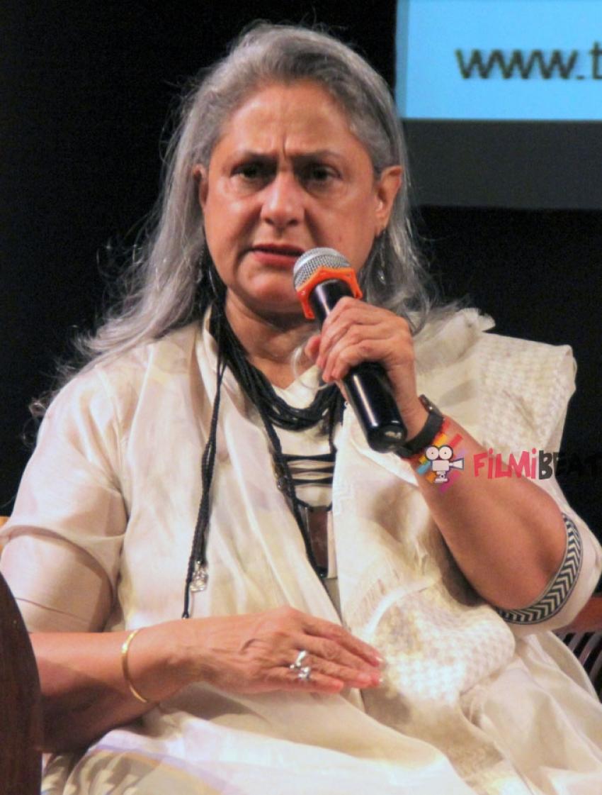 Jaya Bachchan Launches Tata Literature Festival Photos
