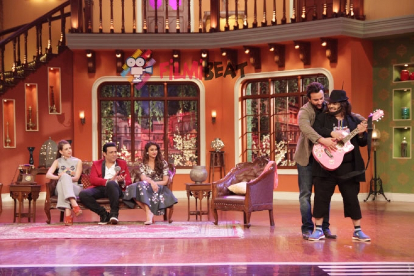 Happy Ending Promotion On Comedy Nights With Kapil Photos