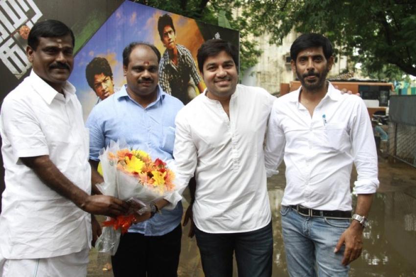 Kamar Kattu Movie Pooja Photos