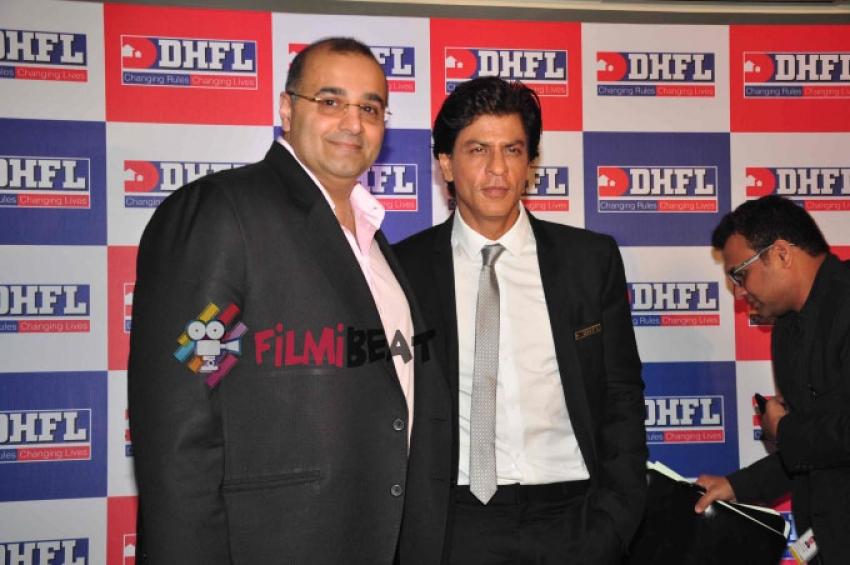 DHFL Announce Shahrukh Khan As Brand Ambassador Photos