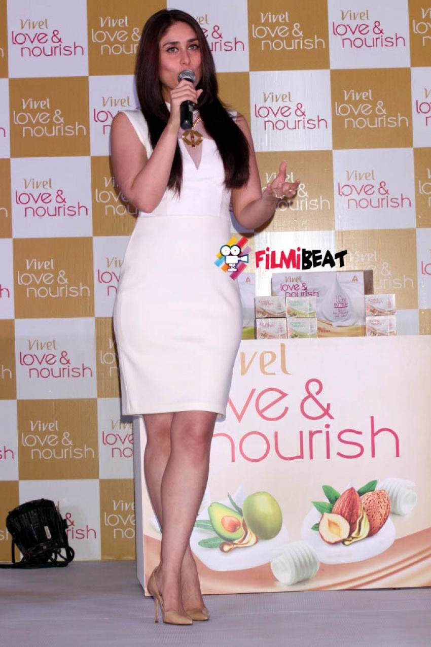 Kareena Kapoor Launch Vivel Love And Nourish Photos