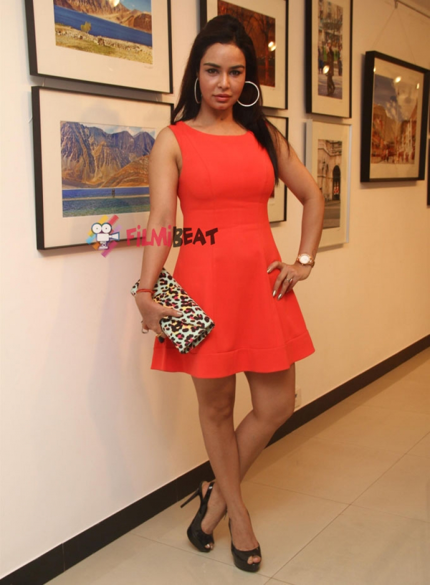 Gul Panag Attends 'The Melted Core' Photo Exhibition Photos