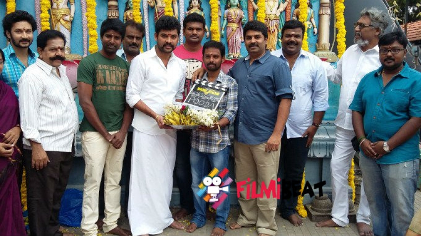 Maaple Singam Movie Launch Photos