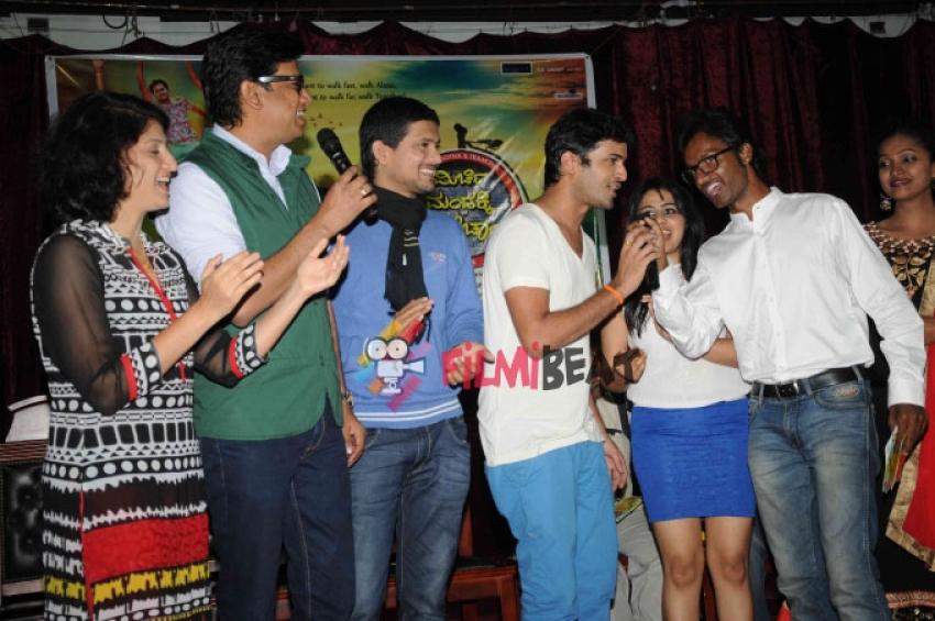 Mirchi Mandakki Kadak Chai Film Audio Release Photos