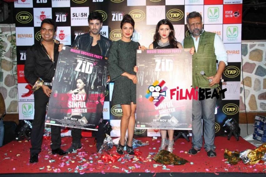 Priyanka Chopra Launch Music Of Zid Photos