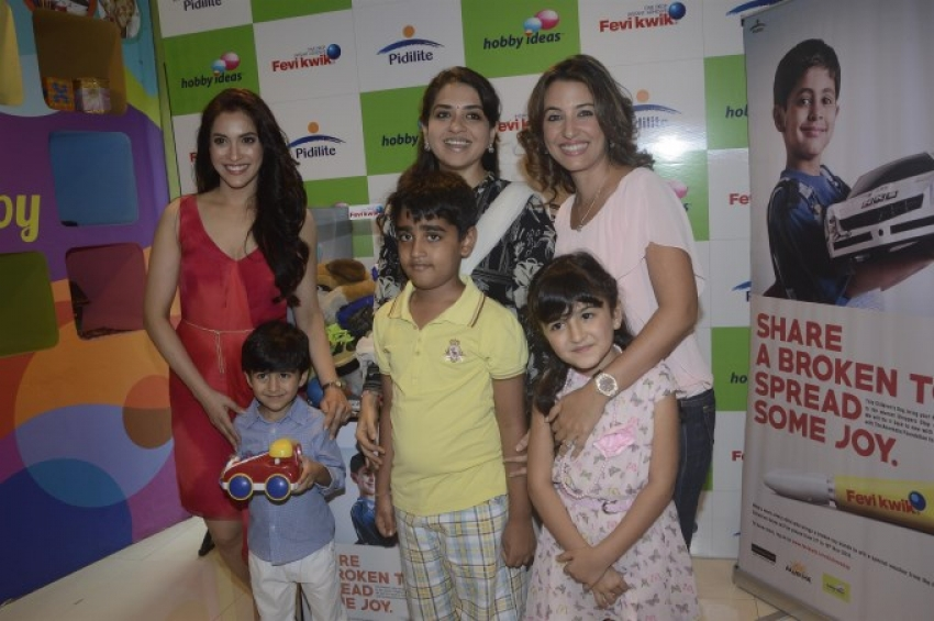 Perizaad Zorabian And Shaina NC Celebrates Children's Day Photos