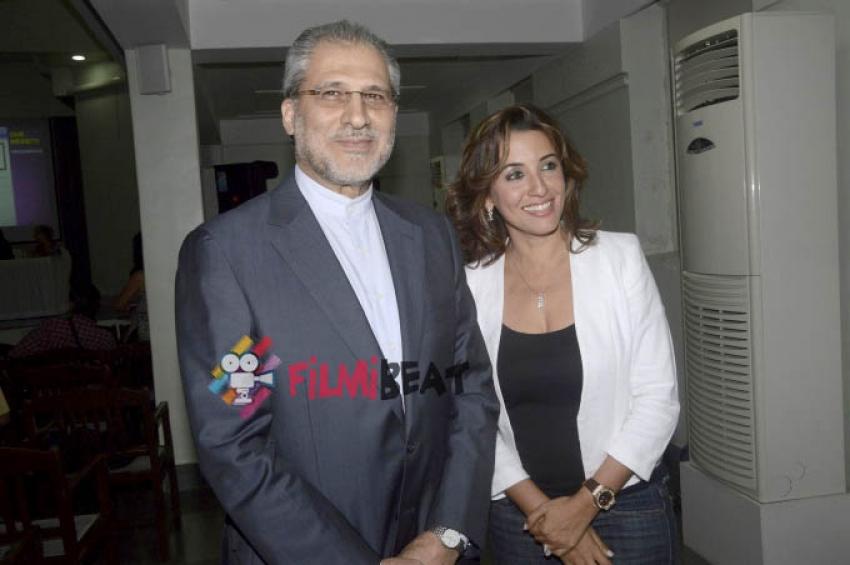 Perizaad Zorabian At Jiyo Parsi Campaign Photos