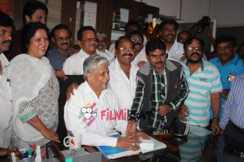 Rajendra Singh Babu Takes Charge As KCA President Photos