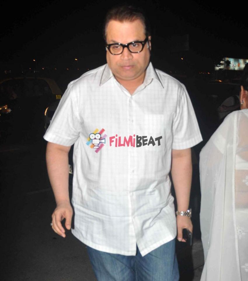 Condolence Meeting Of Late Filmmaker Ravi Chopra Photos