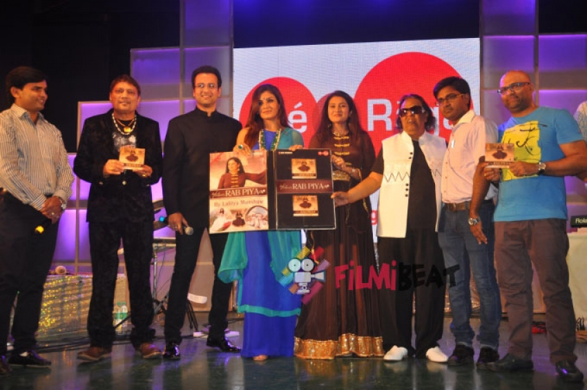 Raveena Tandon Launches 'Rab Piya' Album Photos