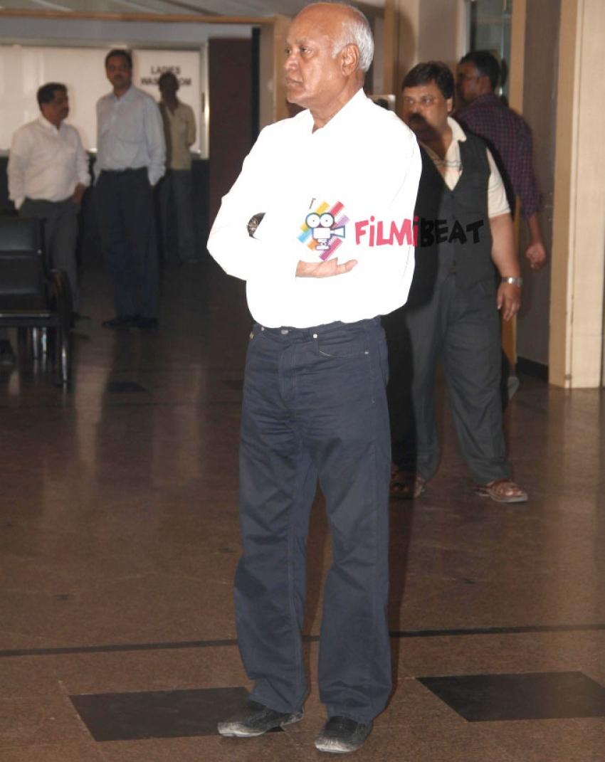 Sadashiv Amrapurkar Funeral Photos