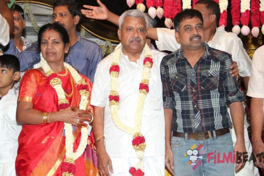 Sashtiabdhapoorthi Of P. Kalyanasundaram And Smt. Shobana Photos