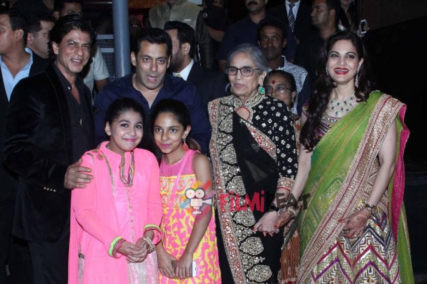Salman Khan Sister Arpita & Ayush Sharma Wedding Reception Photos