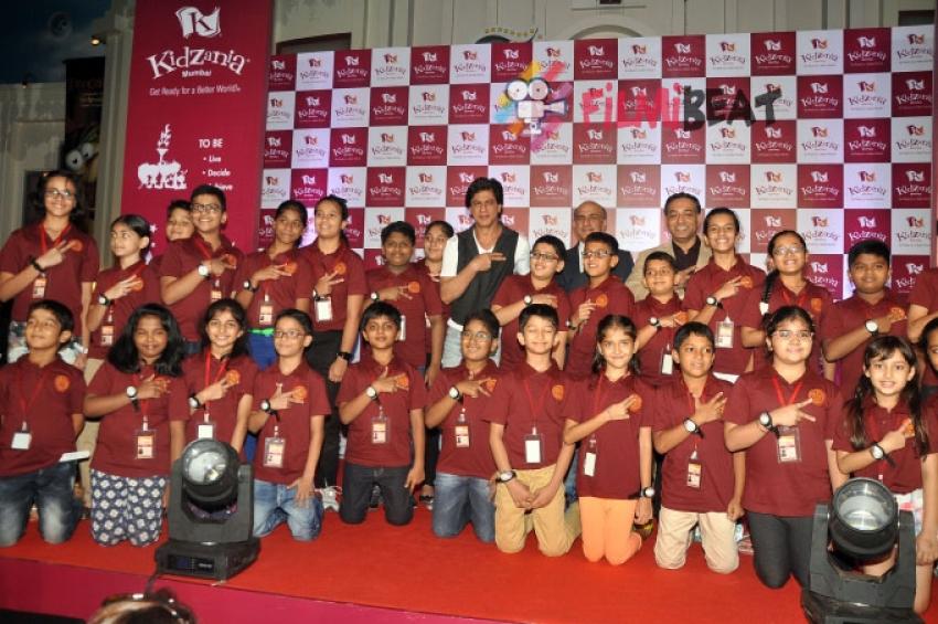Shahrukh Khan Celebrates Children's Day At KidZania Photos