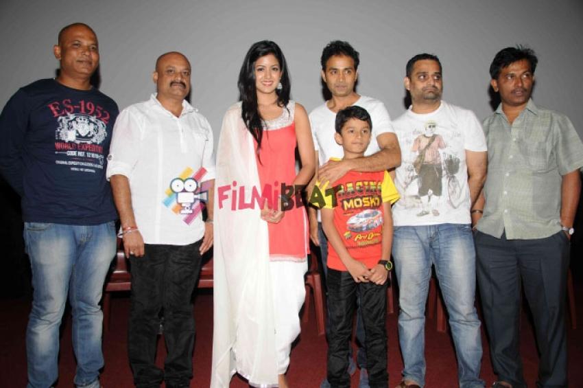 Raja Rajendra Film Press Meet Photos