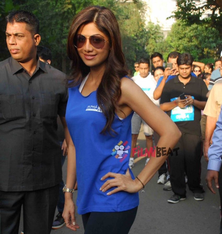 Shilpa Shetty Flag Off Max Bhupa's Walk For Health Photos