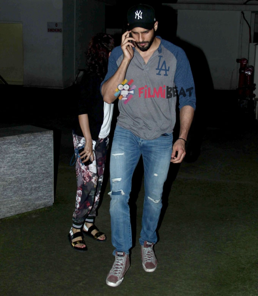 Sidharth Malhotra Snapped At PVR Photos