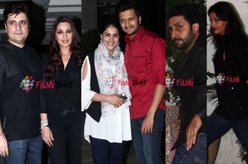 Sonali Bendre And Goldie Behl's Wedding Anniversary Celebrations Photos