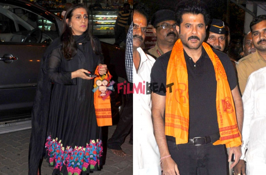 Anil Kapoor At Siddhivinayak Temple Photos