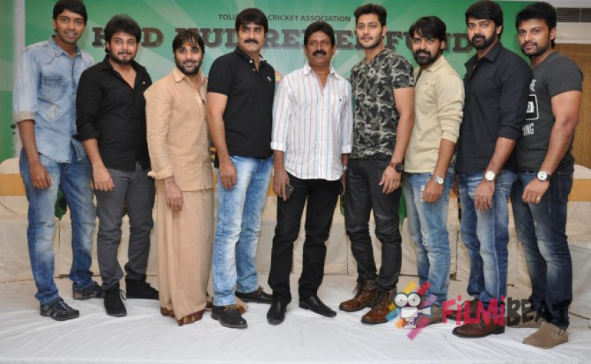 TCA Hudhud Relief Fund Cup Press Meet Photos