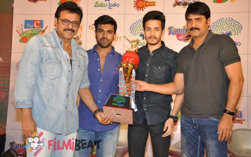 Memu Saitham Star Cricket Curtain Raiser Press Meet Photos