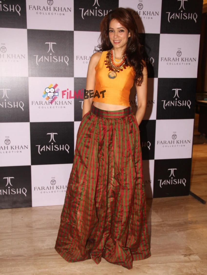 Launch Of Tanishq's 'Farah Khan Collection' Photos
