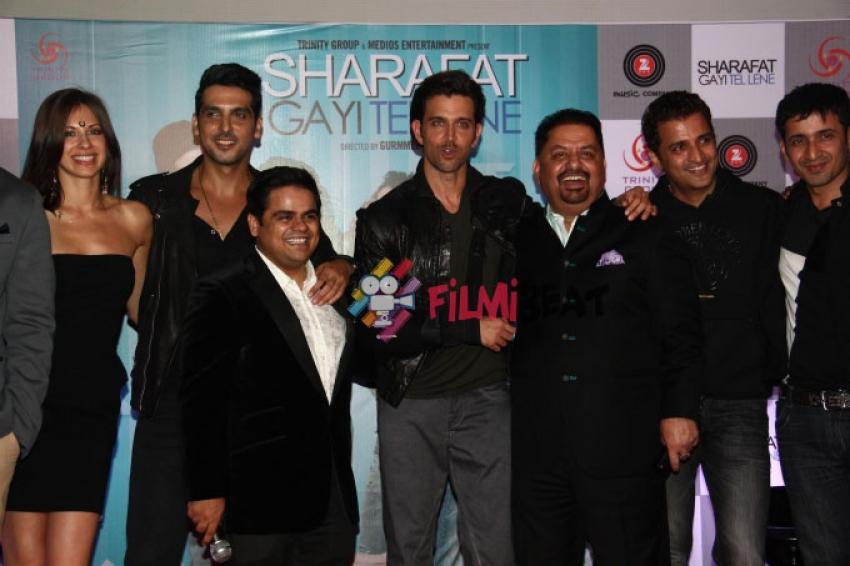 Sharafat Gayi Tel Lene Trailer Launch Photos