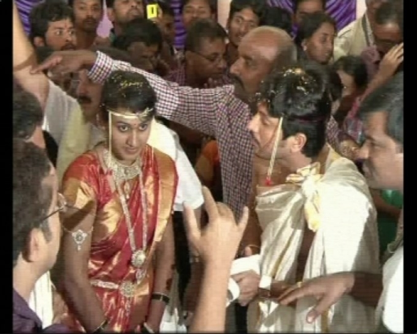 Actor Ajay Rao of 'Krishnan Love Story' fame entered into wedlock Photos