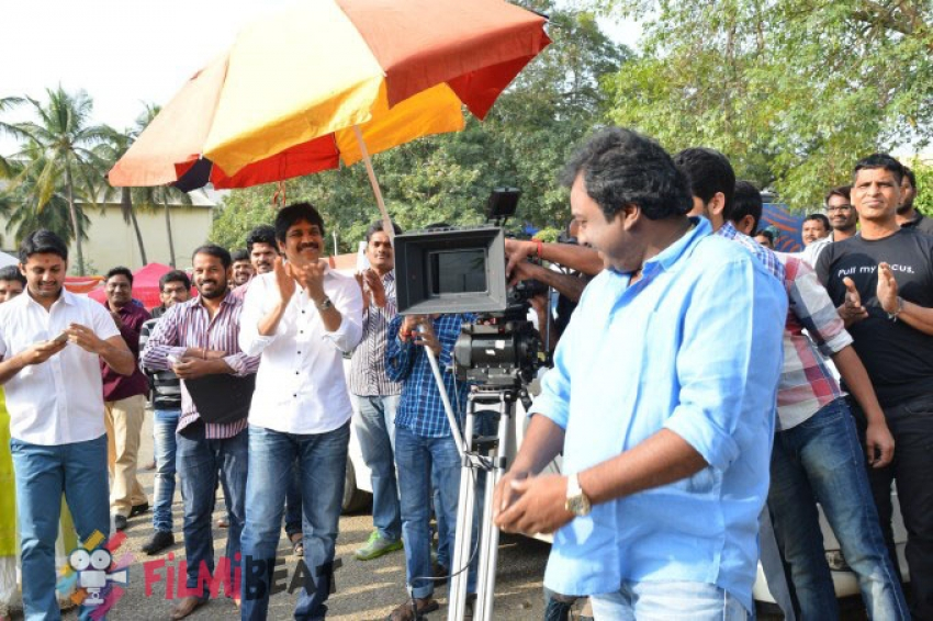 Akhil's Debut Movie With VV Vinayak Launched Photos