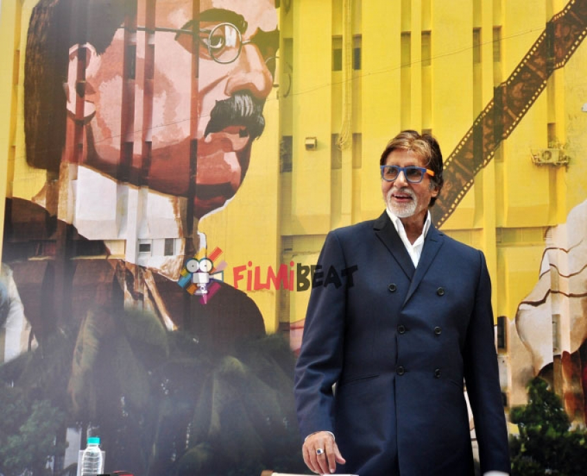 Amitabh Bachchan Inaugurates 120-150 Feet Mural Painting Of Dadasaheb Phalke Photos