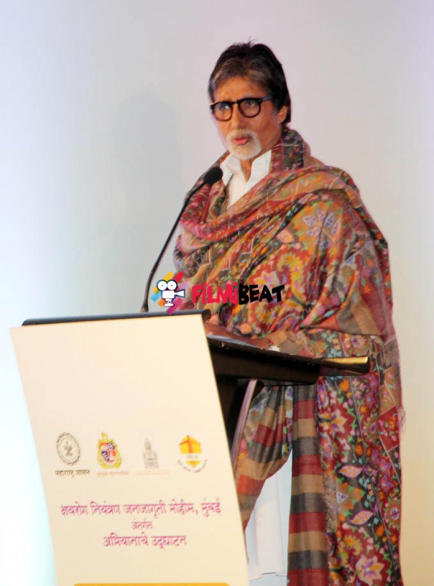 Amitabh Bachchan Launches TB Eradication And Awareness Campaign Photos