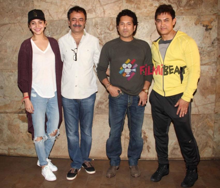 Special Screening Of 'PK' For Sachin Tendulkar Photos