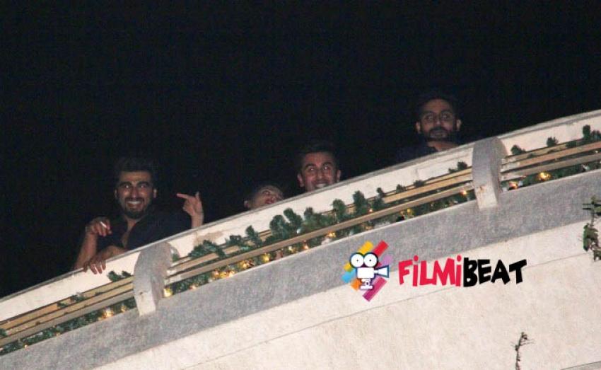 Ranbir Kapoor & Katrina Kaif Housing Warming Party Photos