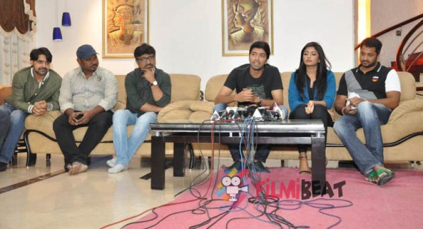 Bandipotu Movie Press Meet Photos